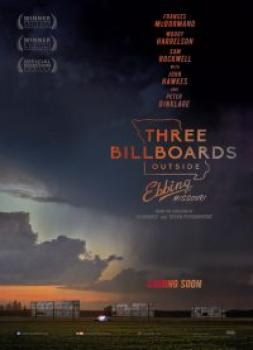 <b>Martin McDonagh</b><br>Three Billboards Outside Ebbing, Missouri (2017)<br><small><i>Three Billboards Outside Ebbing, Missouri</i></small>