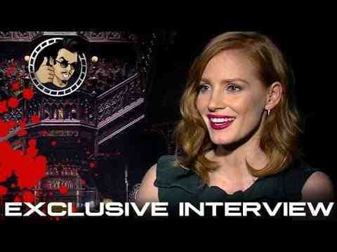Crimson Peak - Jessica Chastain Interview