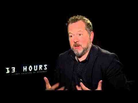 13 Hours: The Secret Soldiers of Benghazi - David Costabile Interview