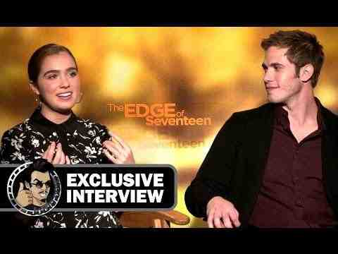 The Edge of Seventeen - Blake Jenner & Haley Lu Richardson Interview