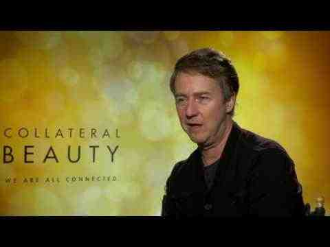 Collateral Beauty - Edward Norton Interview