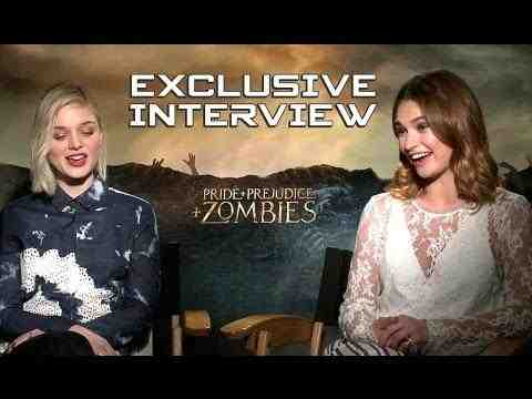 Pride and Prejudice and Zombies - Lily James & Bella Heathcote Interview