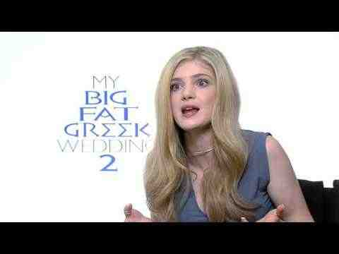 My Big Fat Greek Wedding 2 - Elena Kampouris Interview