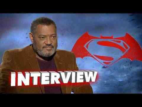 Batman v Superman: Dawn of Justice - Laurence Fishburne Interview