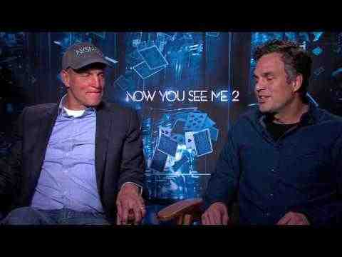 Now You See Me 2 - Woody Harrelson & Mark Ruffalo Interview