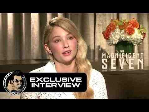 The Magnificent Seven - Haley Bennett Interview