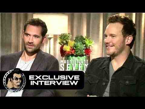 The Magnificent Seven - Chris Pratt & Manuel Garcia-Rulfo Interview