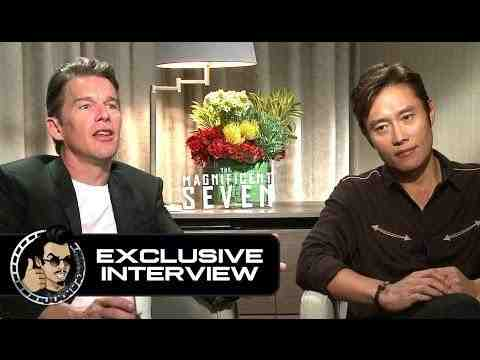 The Magnificent Seven - Ethan Hawke & Byung-hun Lee Interview
