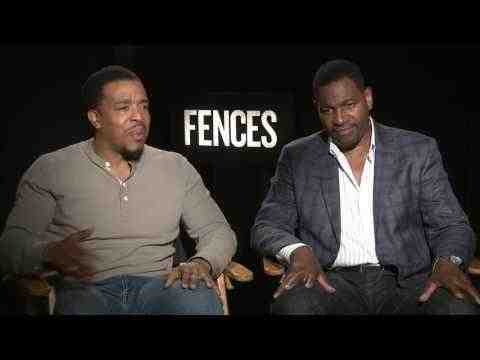 Fences - Russell Hornby & Mykelti Williamson Interview