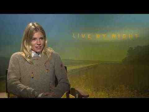 Live by Night - Sienna Miller Interview