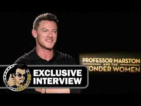 Professor Marston and the Wonder Women - Luke Evans Interview