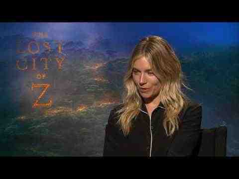The Lost City of Z - Sienna Miller Interview