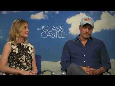 The Glass Castle - Woody Harrelson & Brie Larson Interview