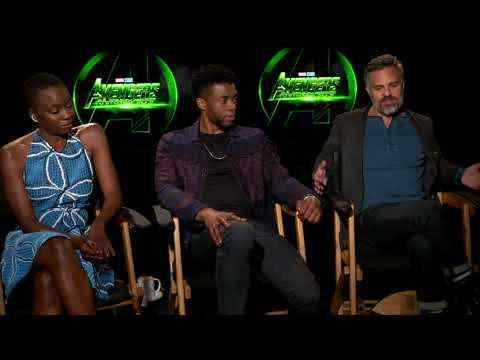 Avengers: Infinity War - Mark Ruffalo, Chadwick Boseman, Danai Gurira Official Movie Interview
