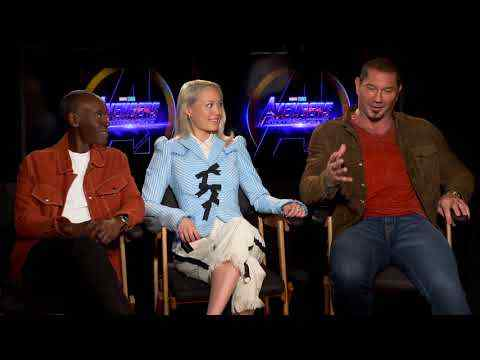 Avengers: Infinity War - Dave Bautista, Don Cheadle & Pom Klementieff Interview