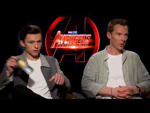 Avengers: Infinity War - Benedict Cumberbatch & Tom Holland Interview