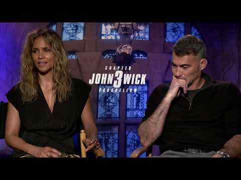 John Wick: Chapter 3 - Halle Berry & Director Chad Stahelski Interview