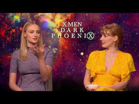 Dark Phoenix - Sophie Turner & Jessica Chastain Interview