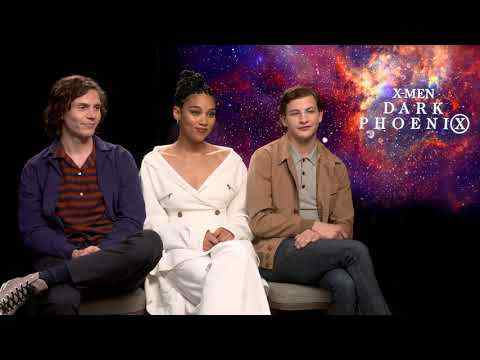 Dark Phoenix - Evan Peters, Tye Sheridan & Alexandra Shipp Interview