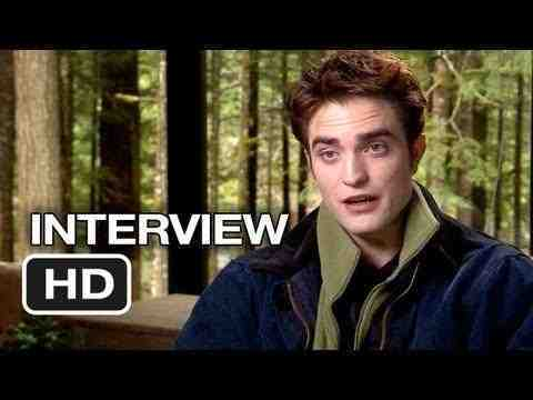 The Twilight Saga: Breaking Dawn - Part 2 - Robert Pattinson Interview