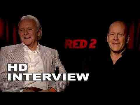 Red 2 - Bruce Willis & Anthony Hopkins Interview
