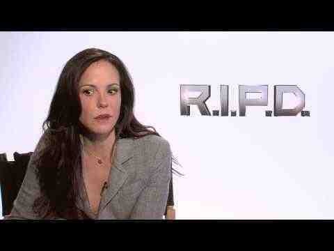 R.I.P.D. - Mary-Louise Parker Interview