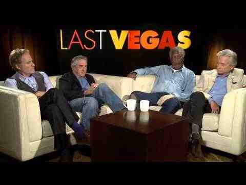 Last Vegas - Michael Douglas, Robert De Niro, Morgan Freeman, & Kevin Kline Interview Part 1