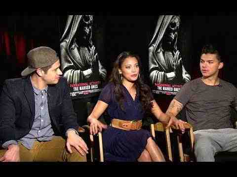 Paranormal Activity: The Marked Ones - Jorge Diaz, Gabrielle Walsh & Andrew Jacobs Interview