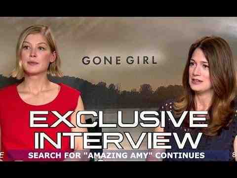 Gone Girl - Rosamund Pike and Gillian Flynn Interview