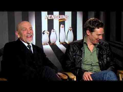 The Penguins of Madagascar - Benedict Cumberbatch & John Malkovich Interview