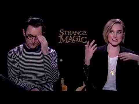 Strange Magic - Alan Cumming & Evan Rachel Wood Interview