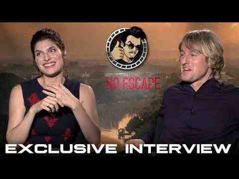 No Escape - Owen Wilson and Lake Bell Interview