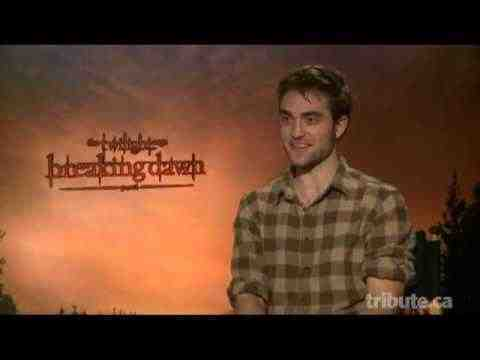The Twilight Saga: Breaking Dawn - Part 1 - Robert Pattinson Interview